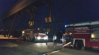 Serviciile de stingere a incendiilor lipsesc total din porturile constănțene