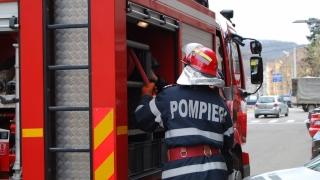 Incendiu la un restaurant din Portul Tomis!