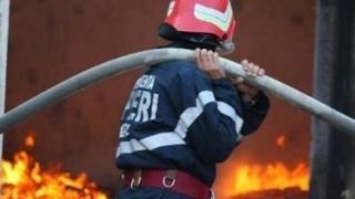 Incendiu grav! O femeie a ars de vie și un bărbat a fost grav rănit