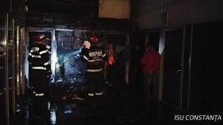 Incendiu puternic în Constanța, în cartierul Poarta 6!