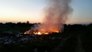 Incendiu în Constanța!