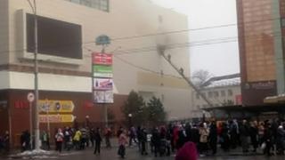 INCENDIU la un mall! Zeci de răniți! Trei copii și o femeie au murit carbonizați