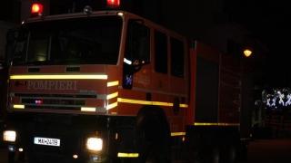 Apartament cuprins de flăcări, în Constanța!