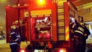 Incendiu într-o casă din Valu lui Traian