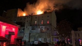 Incendiu puternic în centrul orașului Constanța!