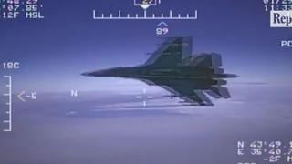 Incident între un avion militar rus şi unul american deasupra Mării Negre