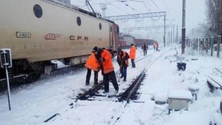 INCIDENT FEROVIAR! 400 de călători se aflau în tren! Ce s-a întâmplat!
