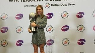 Inel cu diamante și trofeu special pentru Simona Halep