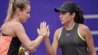 Înfrângere la dublu pentru favoritele 2 la turneul de tenis de la București!