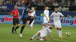FCSB, înfrângere în UEL