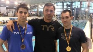 Înotătorii Atila Abibula şi Răzvan Grădinaru, de la CS Farul, campioni naţionali la seniori
