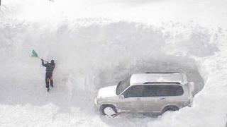 La Moscova, cea mai puternică furtună de zăpadă din ultimii 70 de ani