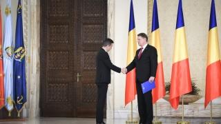 Preşedintele Klaus Iohannis se întâlneşte cu premierul Sorin Grindeanu
