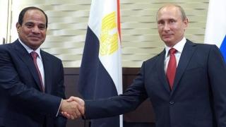 Întâlnire la nivel înalt: Putin și preşedintele Egiptului