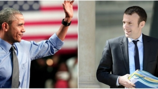 """Întâlnire Macron-Obama sâmbătă, pentru un """"dejun privat"""""""