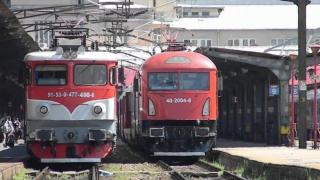 Întârzieri de sute de minute la sosirile și plecările trenurilor din Gara de Nord