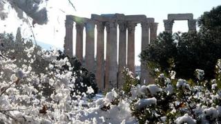 Intemperii cumplite în Grecia! Vremea extremă face ravagii!
