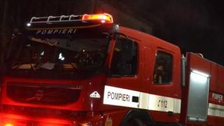 Incendiu în localitatea Negru Vodă
