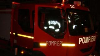 Incendiu la un siloz, în localitatea constănțeană Lumina