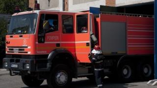 Incendiu în curtea unei case din Constanța