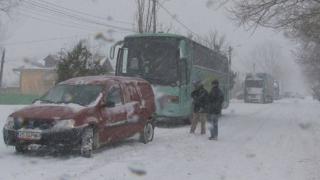 Peste 12.700 de angajați a MAI au acționat în 16 județe și în București în timpul ninsorilor