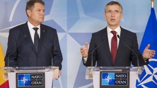 Klaus Iohannis îl primește pe secretarul general al NATO