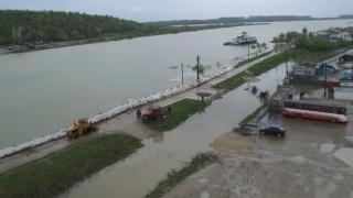 Cod galben de inundații pe Dunăre