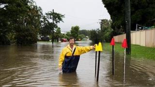 Inundaţii cumplite în Australia! Fenomenul are loc o dată la un secol