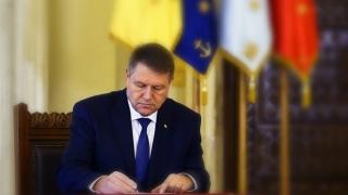 Iohannis a semnat decrete de numire în funcții de conducere în cadrul DNA