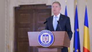 Iohannis: Am decis să desemnez pentru poziţia de candidat la funcţia de prim-ministru pe Dacian Cioloş