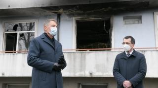 """Iohannis, după incendiul de la """"Matei Balș"""": Am solicitat noului ministru al Sănătății să lucreze cu celeritate la un proiect de reformă pentru întregul sistem de sănătate"""