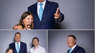 Klaus Iohannis, turnat de fotograful prezidențial