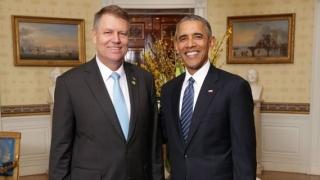 Președintele Iohannis s-a întâlnit cu Barack Obama la Casa Albă