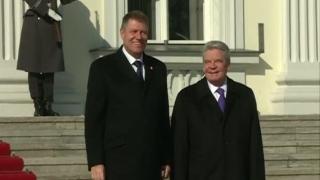 Preşedintele Republicii Federale Germania, în vizită de stat în România