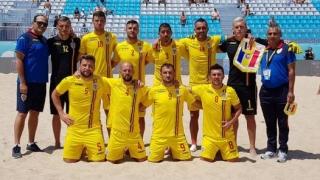 Reprezentativa de fotbal pe plajă a României a învins Serbia, în Liga Europeană