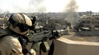 Unități de elită ale forțelor irakiene, în vestul orașului Mosul
