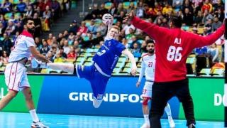 La CM de handbal masculin, victorii categorice pentru Franța, Islanda, Danemarca şi Suedia