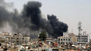 """Raidul aerian asupra unei tabere de refugiați din Siria, încadrat în categoria """"crime de război"""""""