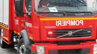 Incendiu la o conductă principală de gaz, în Constanța