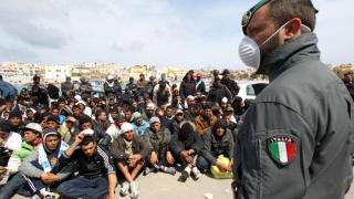 Italia nu mai rexistă în faţa migranţilor! Are nevoie de trupe!