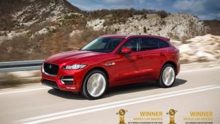 Jaguar F-PACE, maşina anului 2017 şi, totodată, maşina cu cel mai bun design