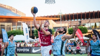 Jandarmii constănțeni patrulează între campionatul de basket și festivalul Dakini