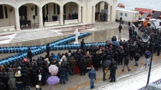 Jandarmii, prezenţi la Sărbătoarea Botezului Domnului