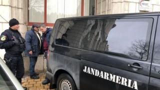 Sediul Ministerului Justiției atacat cu pietre