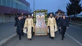 Jandarmii constănțeni, în misiune: De la procesiunea religioasă la competițiile sportive