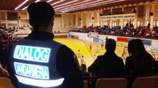 Jandarmii constănțeni asigură ordinea la meciul A.F.C. Dunărea 2005 Călărași și C.SU. Craiova