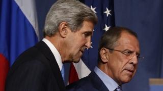 John Kerry a discutat cu Serghei Lavrov despre soluționarea conflictului din Siria
