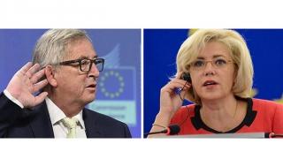 Juncker, înlocuit de Corina Crețu la președinția Comisiei Europene