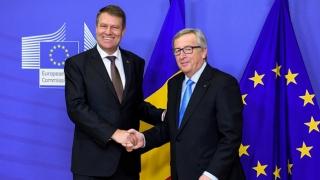 Întâlnire la Bruxelles între Iohannis și Juncker, pe REFORMA JUSTIŢIEI în România