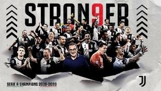 Al nouălea titlu consecutiv de campioană a Italiei pentru Juventus